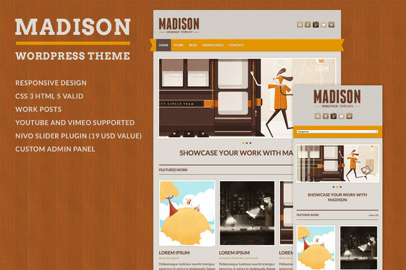Madison WordPress Theme