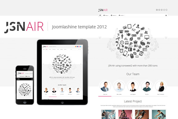 JSN Air Business Portfolio Theme