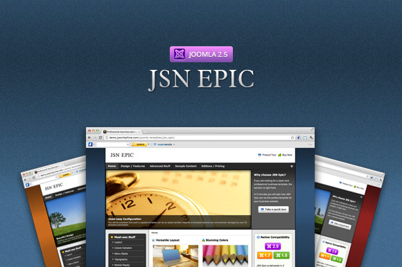JSN Epic Responsive Business Theme