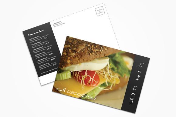 Fast Food Postcard