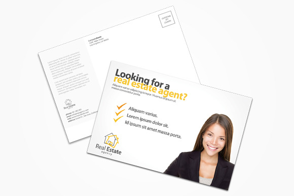 Real Estate Agent Postcard