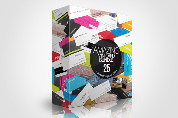 MiniCard Bundle 25 Designs