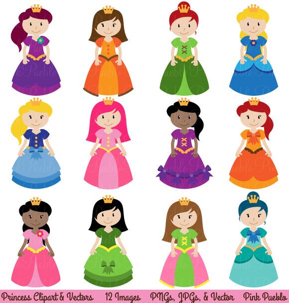 Princess Clipart And Vectors