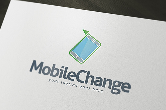 Mobile Change Logo Template