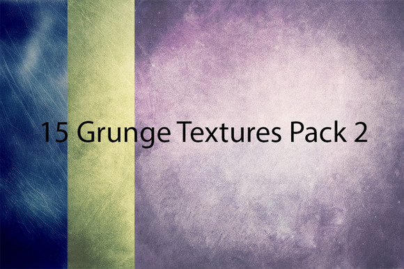 15 Grunge Textures Pack 2