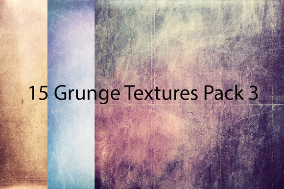 15 Grunge Textures Pack 3
