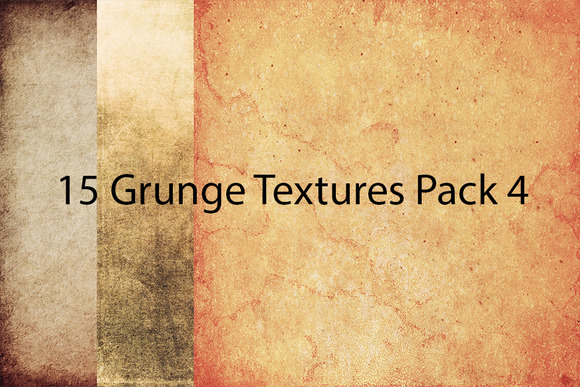 15 Grunge Textures Pack 4