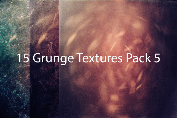 15 Grunge Textures Pack 5