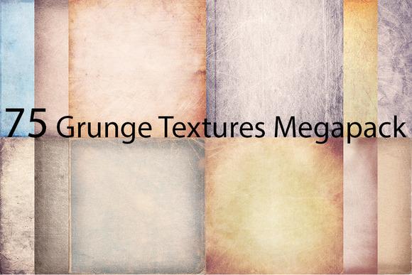 75 Grunge Textures MegaPack