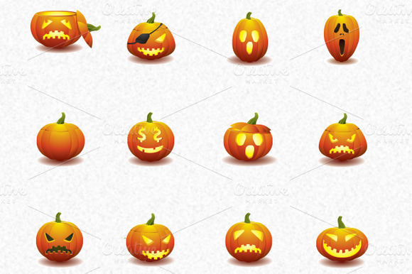 17 Pumpkin Icons