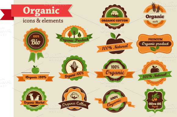 Organic And Ecology Elements