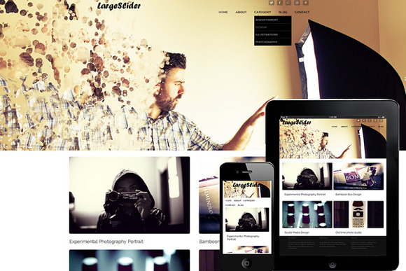 Large Slider Responsive WordPress