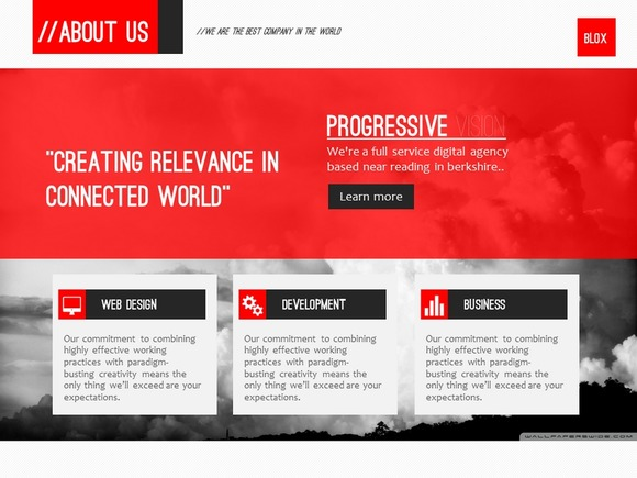 Blox Business PowerPoint Template