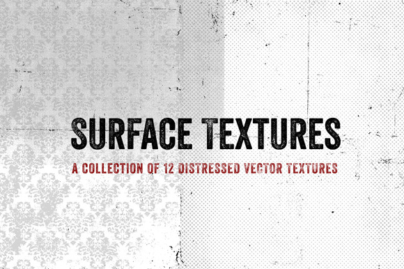 Surface Textures Vector Collection