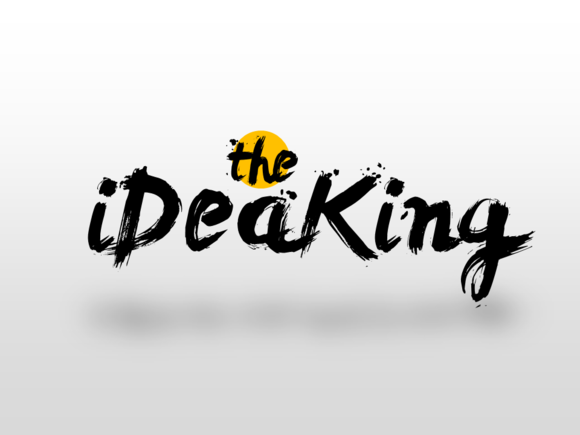 Ideas Is King PowerPoint Template