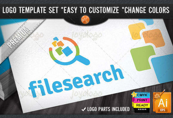 Database Finder File Searching Logo