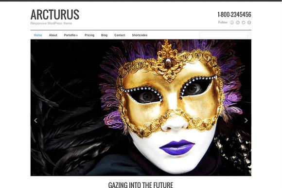 Arcturus Responsive Theme