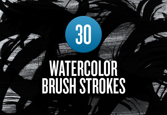 Watercolor Brush Stroke Brushes