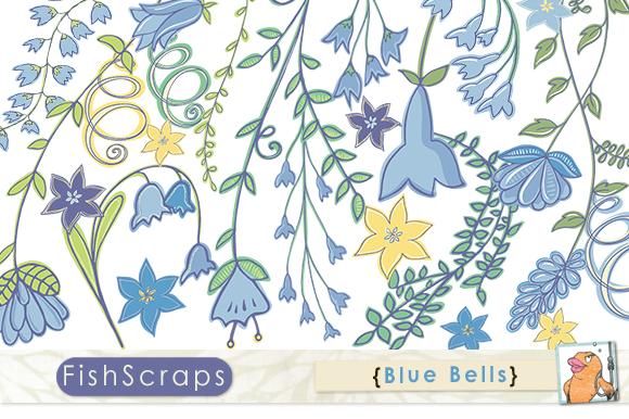 Blue Bell Flowers Clip Art