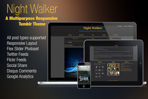 Night Walker Tumblr 35% Discount
