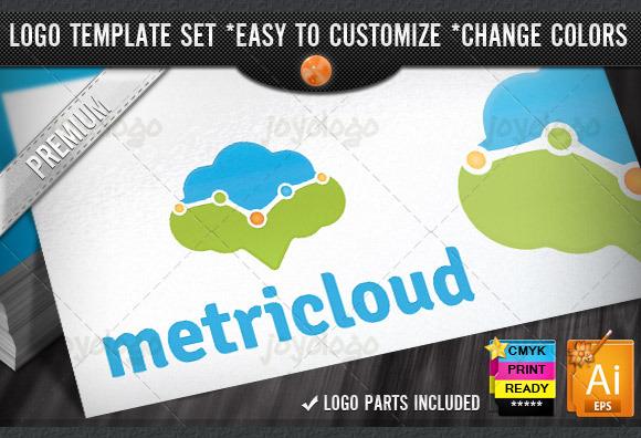 Metric Cloud Internet Marketing Logo