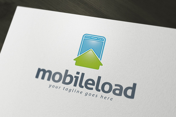Mobile Load Logo Template