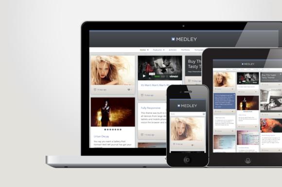 Medley Responsive WordPress Theme