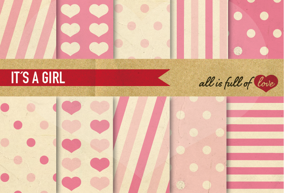 Digital Background Paper Pack