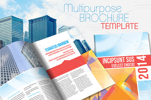 Template agenda indesign designtube creative design for Adobe brochure templates