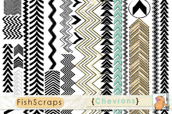 Chevron Borders PS Brushes