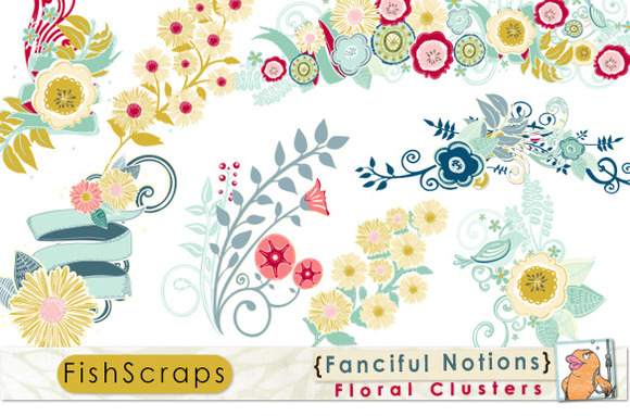 Fanciful Notions Floral Clusters