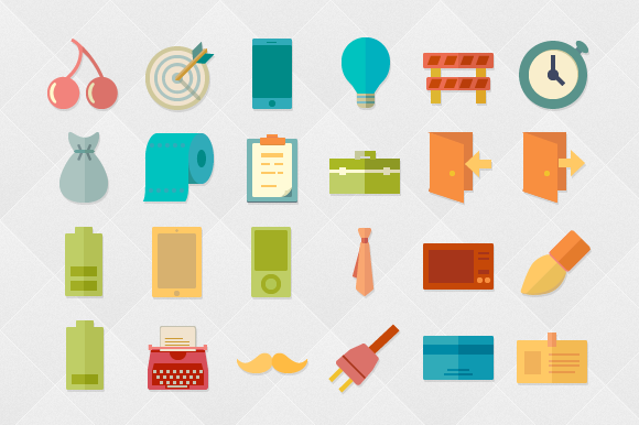 Funky 500 Vector Icons