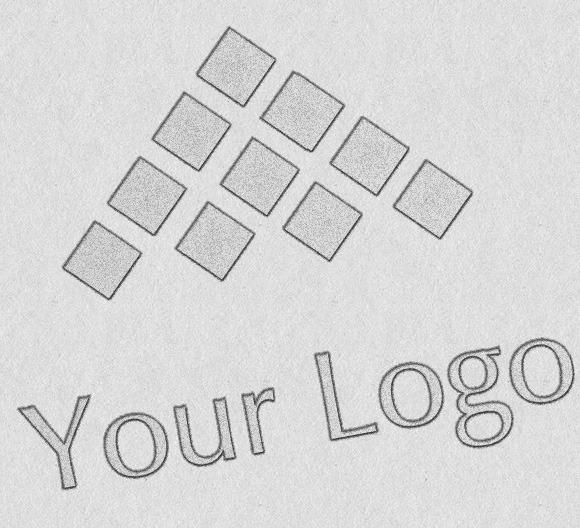 Logo Mock-ups Sketch Style