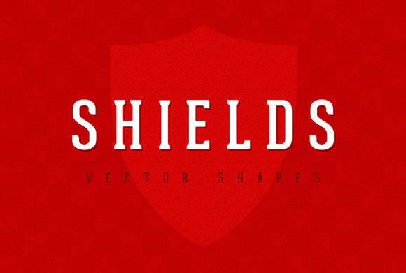 Shields Vector Shapes Set