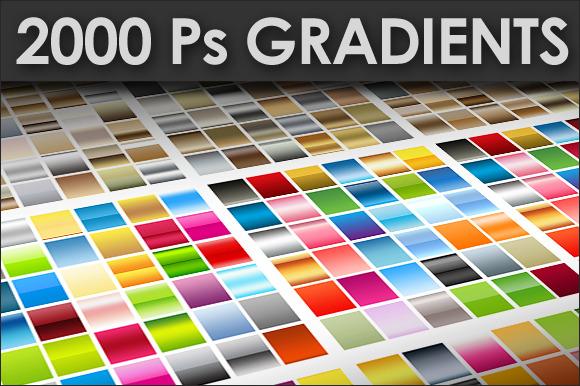 2000 Photoshop Gradients