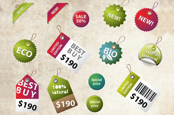 Price Labels And Badges