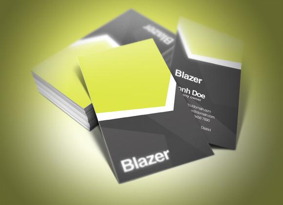 Blazer Business Card