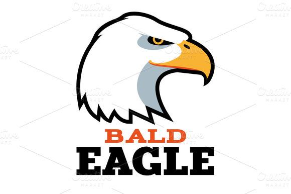 Bald Eagle Logo Template
