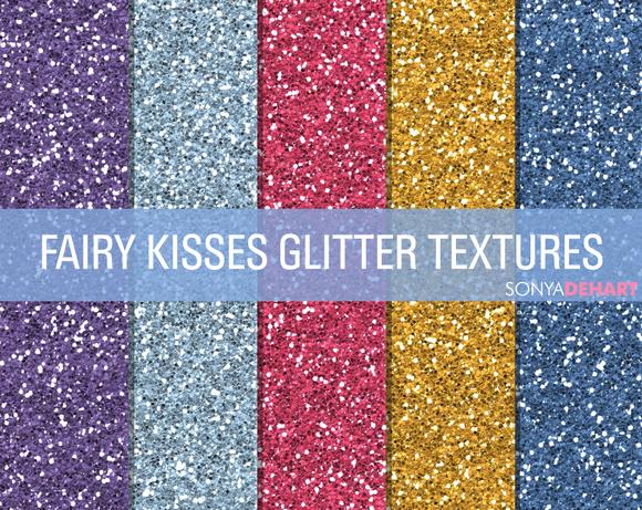 Fairy Kisses Glitter Textures