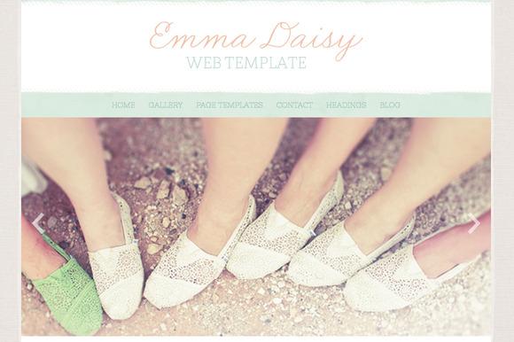 The Emma Daisy Wordpress Theme