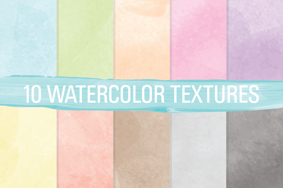 Watercolor Digital Paper Textures