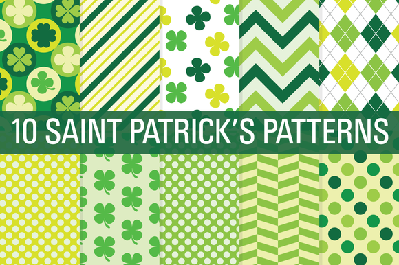 Saint Patrick S Day Digital Papers
