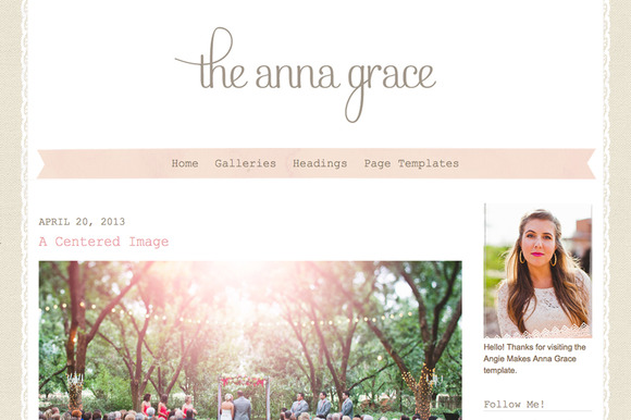 The Anna Grace Wordpress