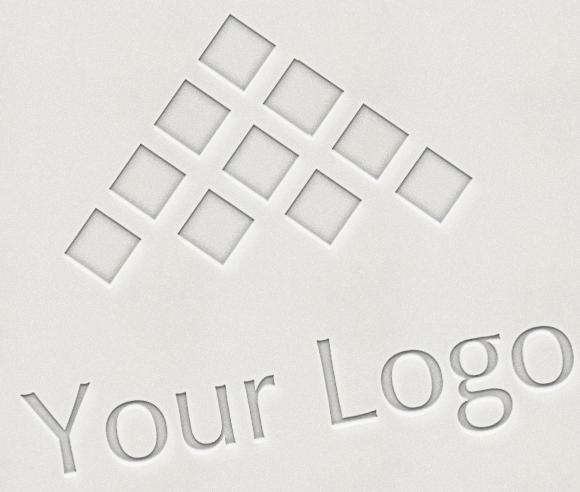 Logo Mock-ups LetterPress Style