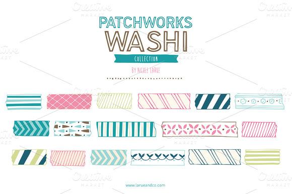 Patchworks Washi