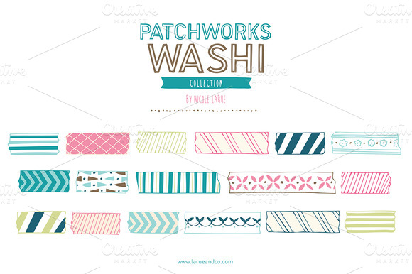 Patchworks Washi