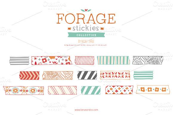 Forage Stickies