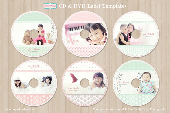 CD DVD Label Templates