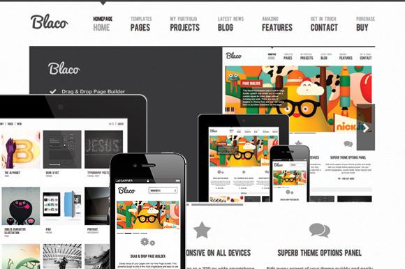 Blaco WordPress Theme