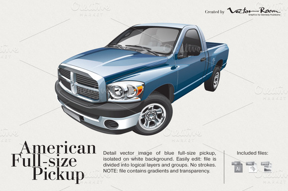American Full-size Pickup